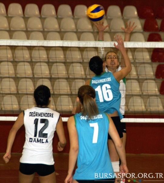 Voleybol 3.Lig 9.Hafta: Değirmenderespor 3-2 Bursaspor