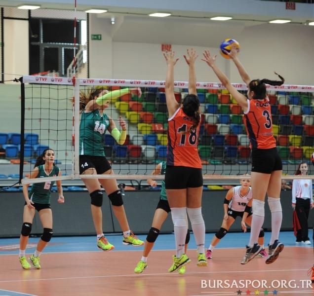 Voleybol: Bursaspor 3-0 Maliye Okulları