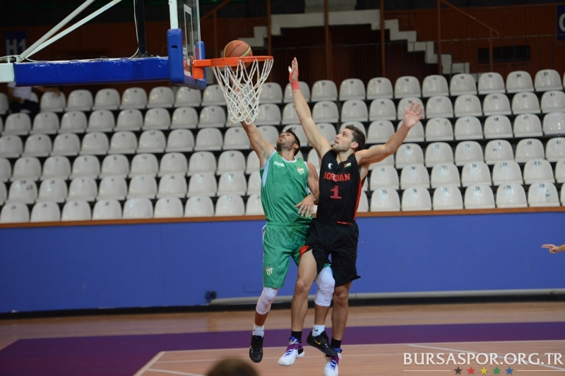 Hazırlık Maçı: Bursaspor Durmazlar 83–93 Ürdün Milli Takımı