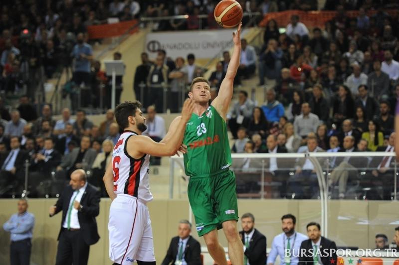 TBL Dörtlü Final 5.Maç:  Eskişehir Basket 82–66 Bursaspor Durmazlar
