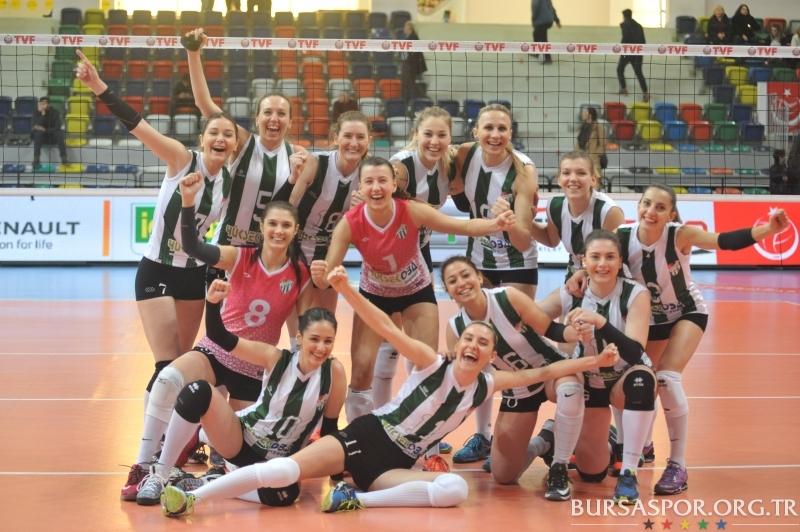 Bursaspor Yüksekoba: 3 - 0 İdman Ocağı