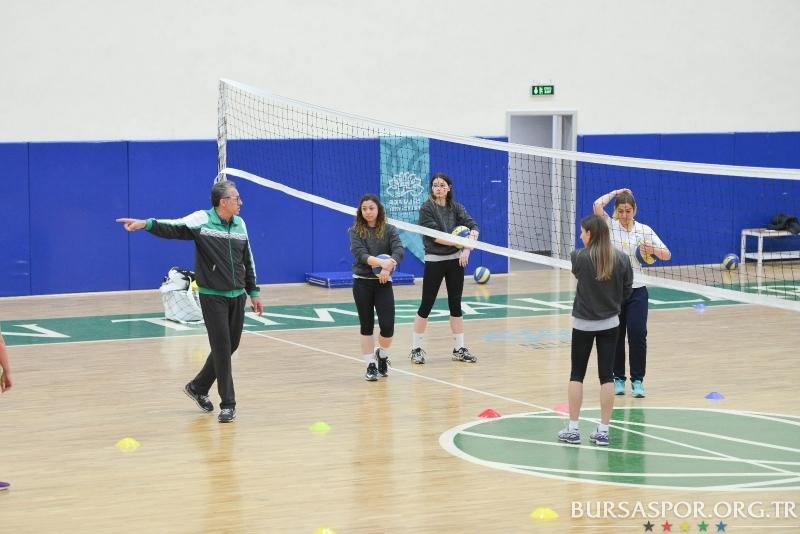 Emin İmen Spor Okulumuzun Çalışmasına Katıldı