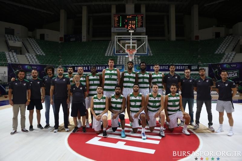 Hazırlık Maçı: Bursaspor Basketbol 73 - 62 Gaziantep Basketbol