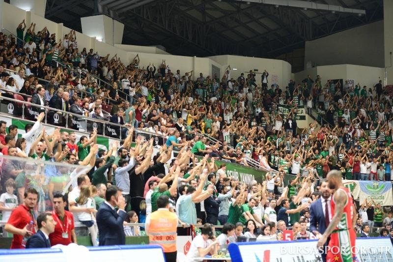 BSL 3. Hafta: Frutti Extra Bursaspor 77-85 Pınar Karşıyaka
