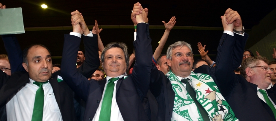 Recep Bölükbaşı is the new chairman of our club!